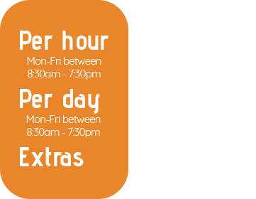 Meeting Room Hire Costs